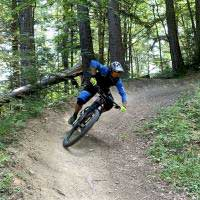 Bildertour Mountainbike Enduro Tour mit dem E-Bike
